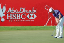 Abu Dhabi HSBC Golf Championship. Abu Dhabi Tourism & Culture Authority