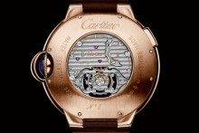 Ballon Bleu de Cartier tourbillon watch. Laziz Hamani © Cartier