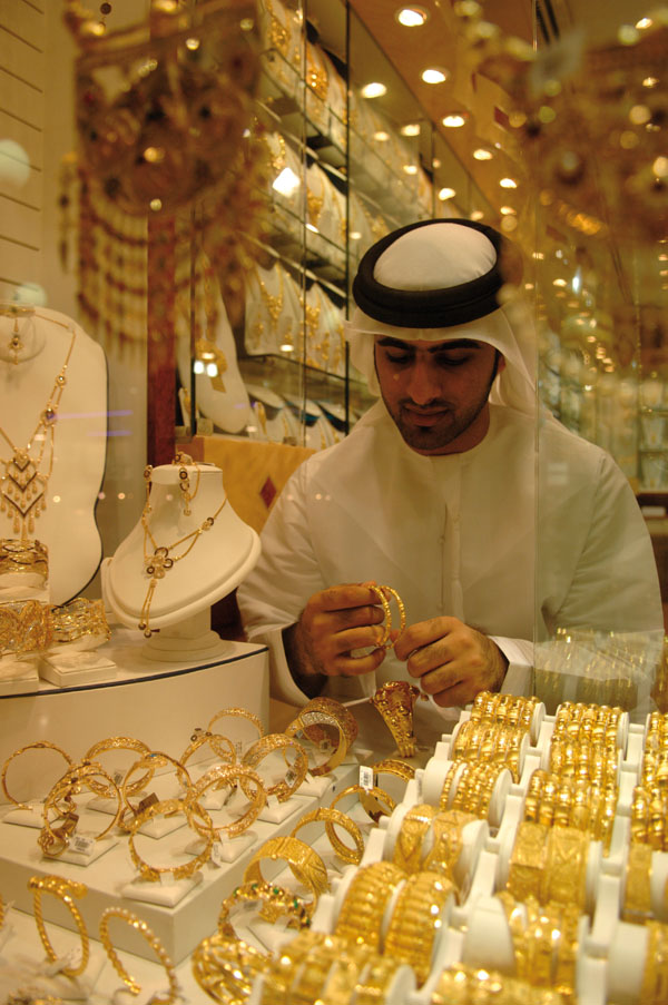 Gold Market. © Abu Dhabi Tourism & Culture Authority