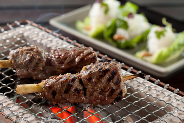 Yakitori strip loin Wagyu beef
