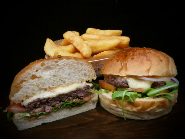 CHAMPS ELYSEES PRIME BEEF BURGER